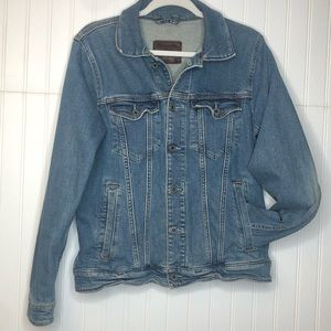 Abercrombie and Fitch Women's Denim Jacket Rustic